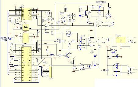 电话远程遥控器电路图