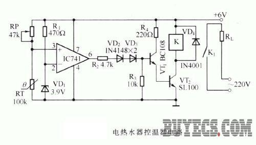 热敏电阻器应用参考电路